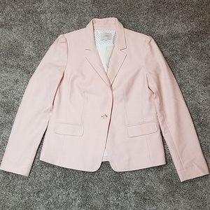 Loft Pink Work Career Suit Jacket One Button Sz 8